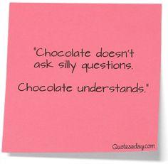 Love me some chocolate! <3