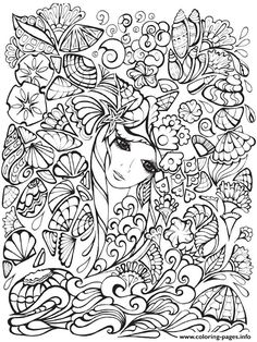 Find This Pin And More On Free Adults Coloring Pages To Print By Coloringpagesi