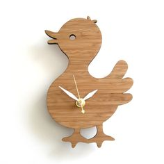 animal wall clocks for kids rooms - decoy lab