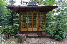 Japanese Tea House | Miriam's River House Designs