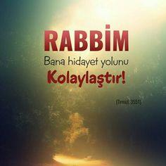 ✅ RABBİM Bana hidayet yolunu kolaylaştır. #Allah #rasülullah #yol #hidayet #kolay #ümmet #müslüman #islam #dünya #işler #hadis #dua #amin #ilmisuffa