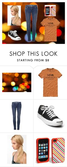 """""""no school - livvy"""" by snizzlemysnell ❤ liked on Polyvore featuring Vintage 55, Converse, Urban Outfitters and Kate Spade"""