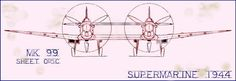 Spitfireproject_Supermarine Mk 99 Twin-Spitfire