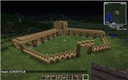 This is a fairly simple stables that can be as big or as little as you wish. Minecraft Java, Cool Minecraft, Minecraft Houses, Minecraft Horse Stables, Minecraft Architecture, Board, Ideas, Thoughts, Planks