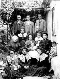 Família de Bombarral Portugal 1905