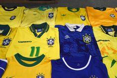 Brazil football shirts collection Football Shirts, Brazil, Polo Shirt, Polo Ralph Lauren, Sports, Mens Tops, Collection, Fashion, Football Jerseys