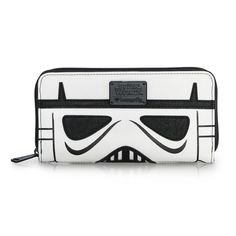 Loungefly x Star Wars Darth Vader/Stormtrooper 2-sided zip-up wallet