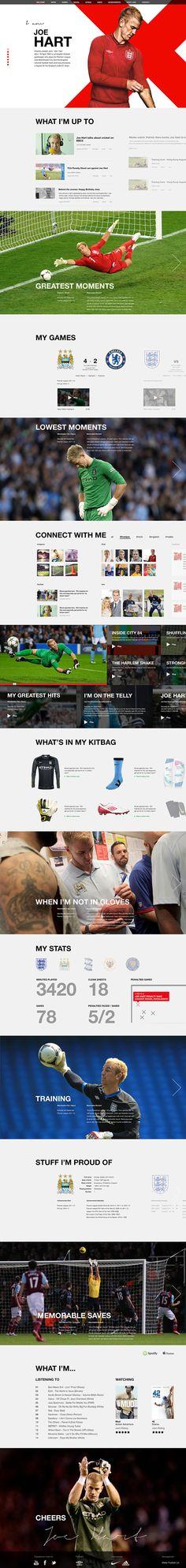Cool Web Design on the Internet, Joe Hart. #webdesign #webdevelopment #website @ http://www.pinterest.com/alfredchong/web-design/