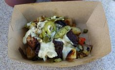 Burnt Ends Brisket Hash recipe served at Flower and Garden Festival at EPCOT