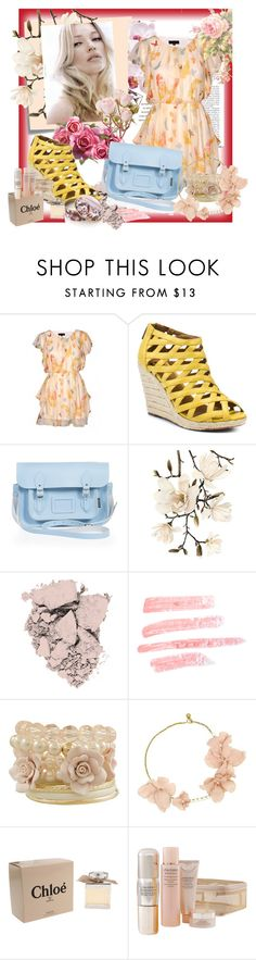 """""""Spring Colors"""" by mkenzie04 ❤ liked on Polyvore featuring Valisere, AX Paris, Kelsi Dagger Brooklyn, Zatchels, Post-It, FRUIT, Revlon, Topshop, Miso and Lanvin"""