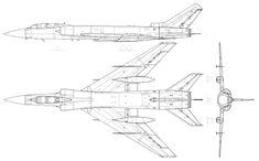 Tupoljev Tu-128.svg