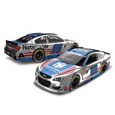 Dale Earnhardt Jr. Action Racing 2017 #88 Nationwide Patriotic 1:24 Monster Energy NASCAR Cup Series Color Chrome Die-Cast Chevrolet SS