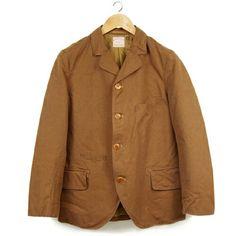 Sack Coat Brown Duck