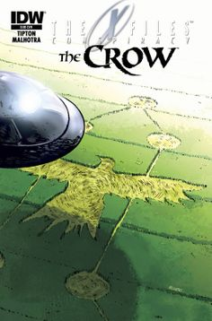 X-files Conspiracy The Crow #1 (Subscription Var)