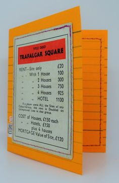 Monopoly winner birthday card from alittlelemonadestandsy 1950 60s vintage trafalgar square monopoly card with money 650 it is bookmarktalkfo Choice Image