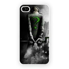 Batman Arkham City Riddler iPhone 4/4S and iPhone 5 Cases