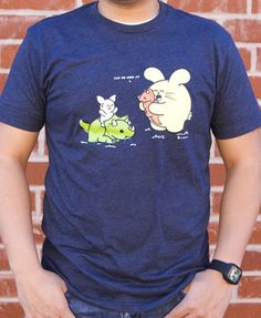 Can We Keep It? Men's T-shirt by Fat Rabbit Farm