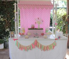 girl baby shower  by Candy Kisses Lolly Bar