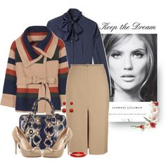 Jacket-MARC BY MARC JACOBS * Blouse-MOSCHINO * Skirt-THE ROW * Bag-VERSACE * Shoes-VALENTINO
