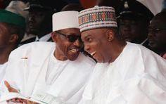 Welcome to Ochiasbullet's Blog: Buhari meets Saraki, Dogara, others in Aso Villa