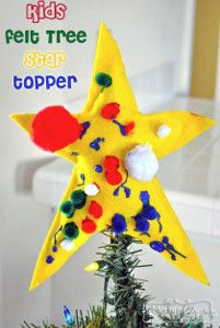 1000 images about tree topper crafts on pinterest tree for Christmas crafts for young children