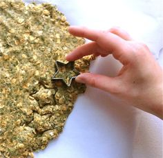 An easy recipe for banana and peanut butter gluten-free, wheat-free and dairy-free dog treats.