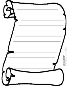 Free Printable Activity: Blank Scroll – Kids Coloring Pages and Word Puzzles… Scroll Templates, Templates Printable Free, Printable Paper, Printables, Coloring Pages For Kids, Coloring Books, Kids Coloring, Coloring Sheets, Reformation Day