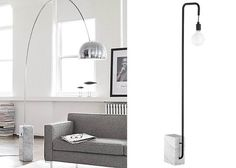 High and Low: The New Classics, Super Budget Edition.  CB2 marble floor lamp 199
