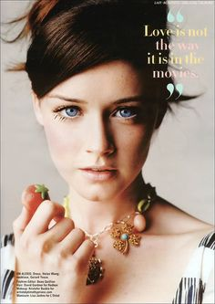 alexis bledel (yet she'll always be rory gilmore to me)