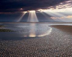 Findhorn Beach, Moray, the Highlands, Scotland