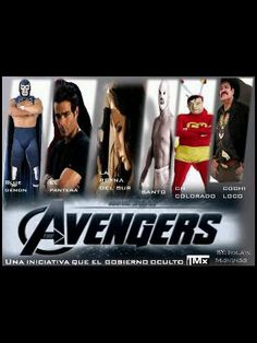 Avengers mexicanos