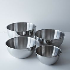 RSVP Endurance Stainless Steel Bowls...perfect for baking!!!!
