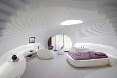 Casa Adorada: Decoração de estilo futurista