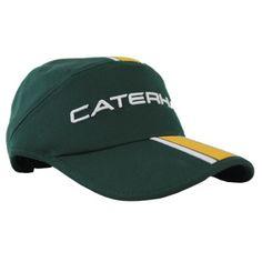 Caterham F1 Team Cap Green Team Cap, Team Logo, Perfect Fit, Baseball Hats, Racing, Brand New, Three Dimensional, Formula 1, F1