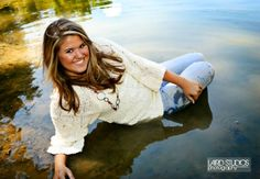 "I don't know what it is about this ""sitting in water"" senior picture thing, but its so not natural that it interests me"