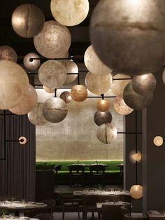 "The light fixtures in ""Pump Room"" restaurant are AMAZING!"
