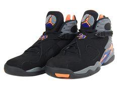 promo code 0ebdd 7fe36 Air Jordan 8 VIII Phoenix Suns Black