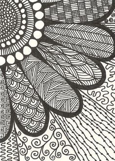 Creative Crafting How To Zen Doodle For The Kids Pinterest