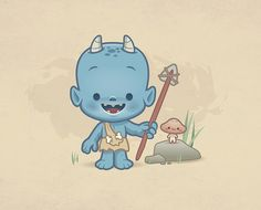Little Forest Oni | Flickr - Photo Sharing!