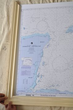DIY: Make Your Own Picture Frames  I want to use this to build a frame for my 1980's National Geographic world map ...
