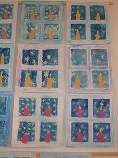 Winter Art Projects, Winter Crafts For Kids, Art For Kids, Christmas Arts And Crafts, Christmas Activities, Holiday Crafts, Autism Crafts, Montessori Art, Elementary Art