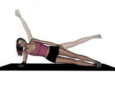 Side-lying plank with hip abduction