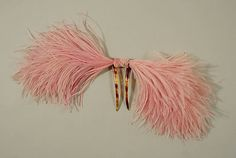 Date: 1920s Culture: American or European Medium: plastic, feathers