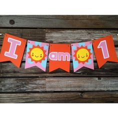 My little sunshine party banner. Bright and fun High chair banner. #etsy #etsyshop #etsyseller #papergoods #blueoakcreations #firstbirthday #sunshine #kidsparty #kids #crafts #craftymomma #party #partyplanner See More Goodies at: www.blueoakcreations.com