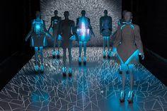 EL wire for illuminated fashion VEGA ZAISHI WANG AND UFO MEDIA LAB - highlike (…