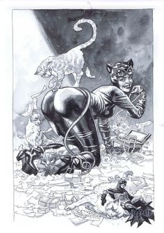 Catwoman by Duncan Fegredo