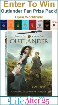 Enter To Win A #Outlander Fan Prize Pack! via @YourLifeAfter25 #Giveaway