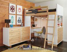 Desain Set Tempat Tidur Tingkat Minimalis Terbaru 2015