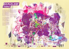 Map of Bangalore today | Urban Geofiction
