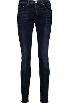 RAG & BONE Mid-Rise Skinny Jeans. #ragbone #cloth #jeans